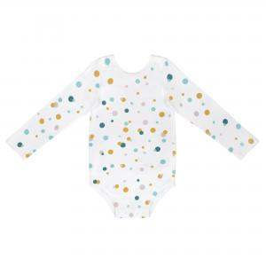 BODYSUIT- COLOR DOTS