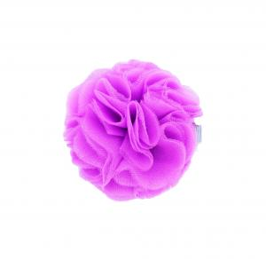 Hairclip with tulle ball- ORCHID